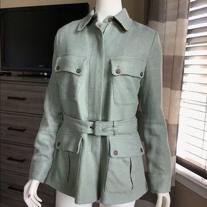 Ralph Lauren military style Jacket green size 10